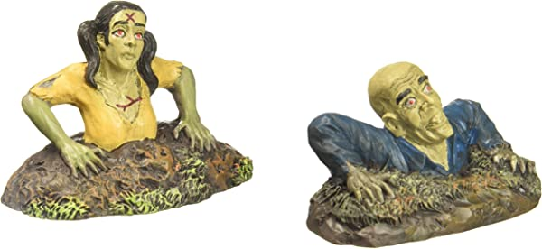 Department 56 Accessories For Villages Halloween Rising From The Dead Figurine Set Of 2