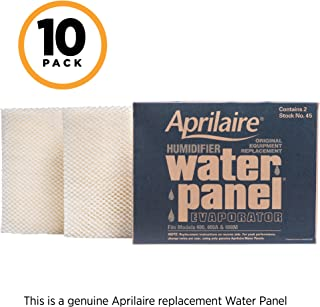 Aprilaire 45 Replacement Water Panel for Aprilaire Whole House Humidifier Models 400, 400A, 400M (Pack of 10)