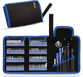 Zestaw precyzyjnych śrubokrętów, phixilin 126 w 1 magnetyczny mini śrubokręt zestaw narzędzi naprawczych do samodzielnego ...