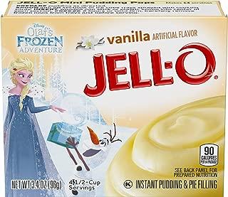 JELL-O Vanilla Instant Pudding & Pie Filling, 3.4 oz