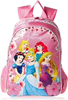 Princess School Backpack for Girls - Pink