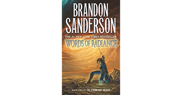 Words Of Radiance Book Two Of The Stormlight Archive Sanderson Brandon Amazon Sg Books