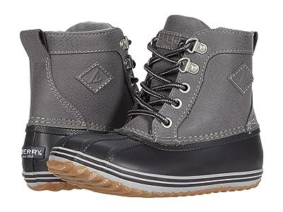 Sperry Kids Bowline Boot (Toddler/Little Kid) (Grey/Black) Boy