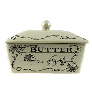 Farmhouse Spread the Love Decorative Butter Dish