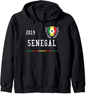 Senegal Football Jersey 2019 Senegalese Soccer Jersey Zip Hoodie