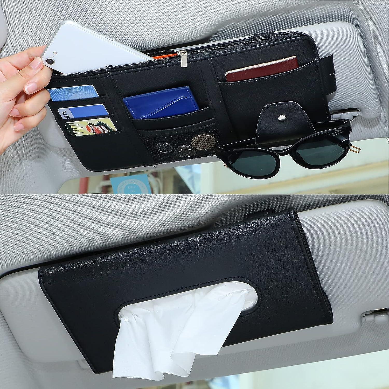 2 Outlet SALE Pieces Car Sun Visor Organizer Interio Tissue Auto Holder Max 49% OFF