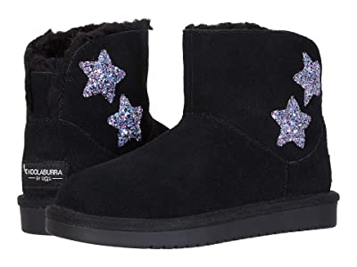 Koolaburra by UGG Kids Koola Star Mini (Little Kid/Big Kid) (Black) Girl