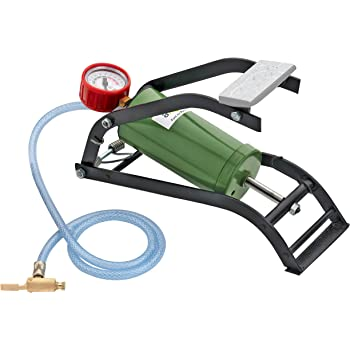 Axtry 150PSI Heavy Duty Air Pump For Car Tyre/Air Pump For Car And Bike/Air Pump Of Cycle/Air Pump With Pressure Gauge/Air Pump Manual/Pedal Air Pump For Car Bike And Cycle/Car Air Pump Inflator (Green)