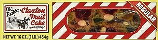 FRUIT CAKE Boxed -1 lb Regular Recipe Claxton Fruitcake