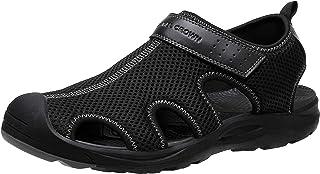 Sandalias Hombre Senderismo Mesh Men Sandal Zapatos Verano Sandalias Deportivas Trekking para Hombre Respirable Impermeable