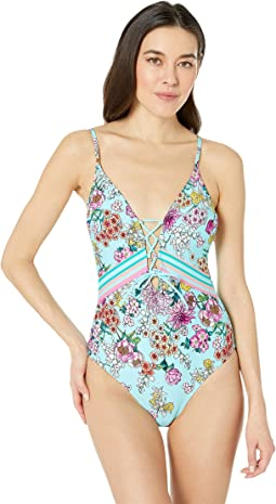 Bloomin Beauty Lace Front Mio One-Piece