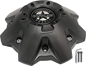 American Outlaw Wheels # BC-845 Gray Wheel Center Cap New!