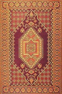 Mad Mats Oriental Turkish Indoor/Outdoor Floor Mat (6' x 9', Rust)