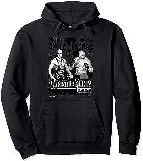 Wrestlemania Kurt Angle Vs Brock Lesnar Pullover Hoodie