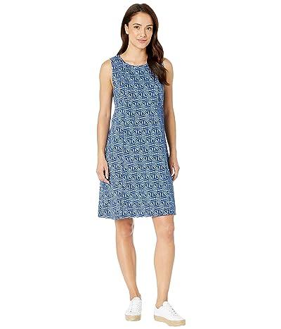 Fresh Produce Tidepool Geo Marissa Dress (Moonlight Blue) Women