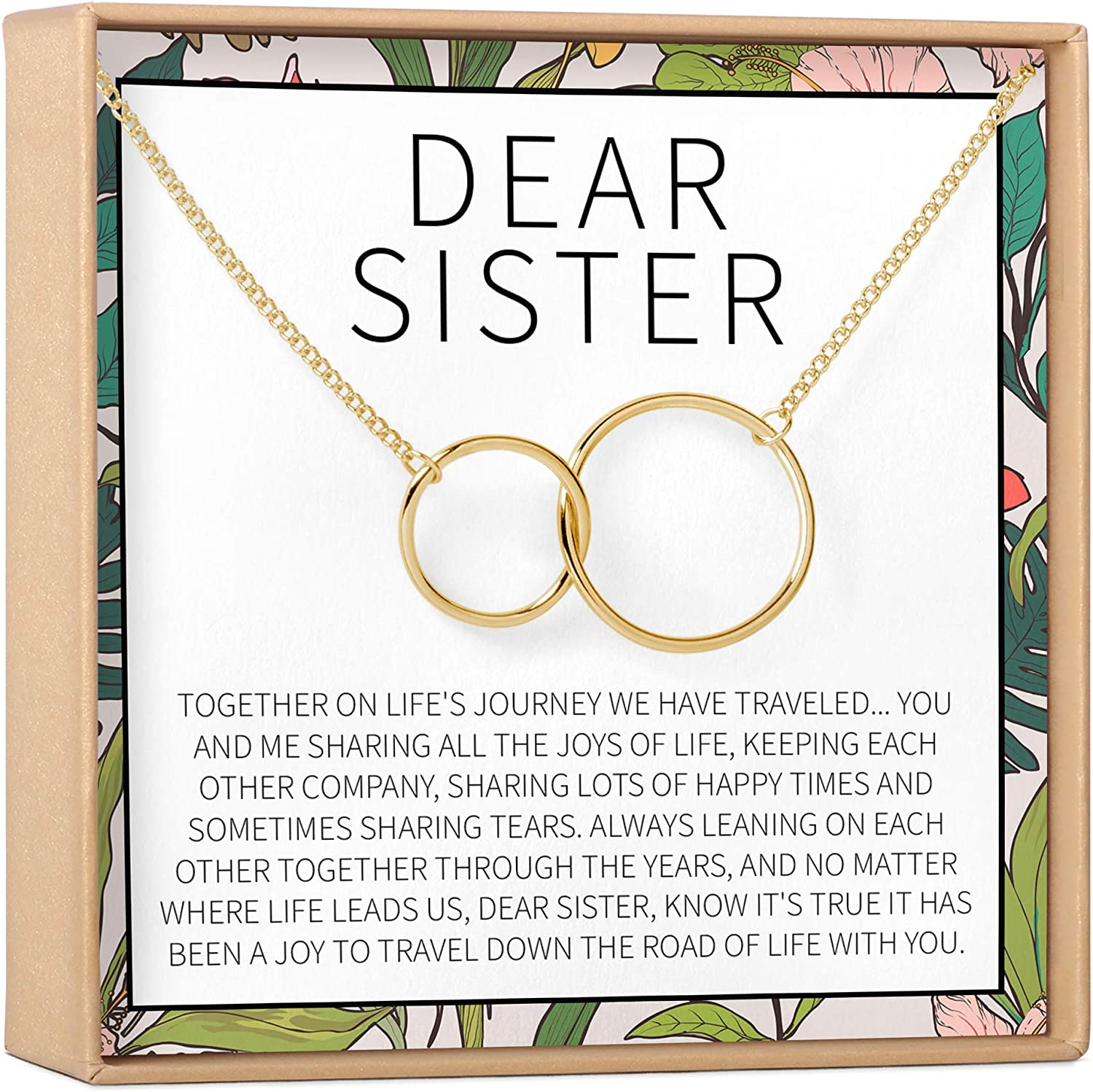 Sisters Gift Necklace: Popular products Max 43% OFF Sister Birthday Big 2