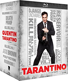 Quentin Tarantino - The Ultimate Collection : Inglourious Basterds / Reservoir Dogs / Death Proof / Pu Fiction / Jackie Brown / Kill Bill : Volume 1 / Kill Bill : Volume 2 / Django Unchained