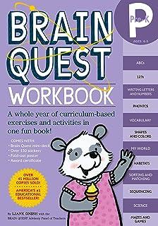Brainquest Pre-K Workbook Ages 4-5