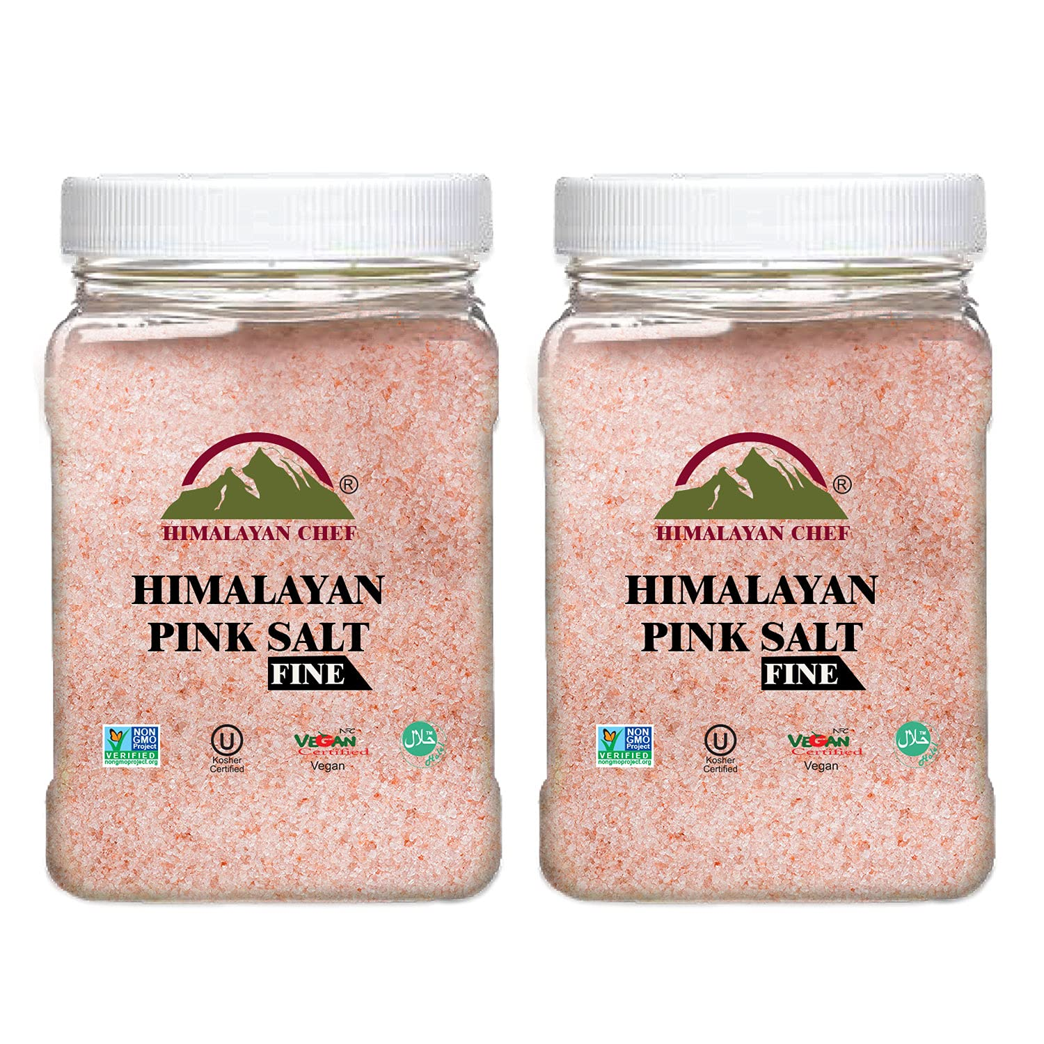 Himalayan Chef Super Special SALE held Salt At the price of surprise Each 2Pack Fine-5lbs