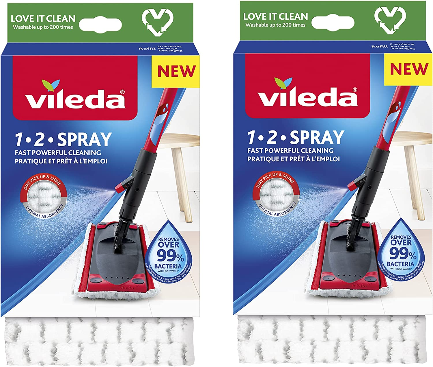 Vileda Ultramax 1 2 Spray White Microfibre New products, world's highest quality popular! Refill-Pack Very popular of