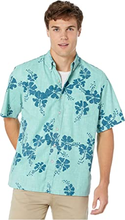 50th State Floral Classic Fit Aloha Shirt