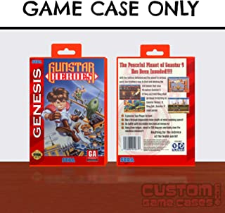 Sega Genesis Gunstar Heroes - Case