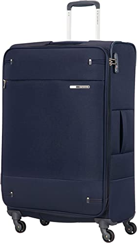 Samsonite Base Boost - Spinner L Valise Extensible, 78 cm, 105/112,5 L, Bleu (Navy Blue)