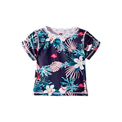 Appaman Kids Tropical Zuma Rashguard (Toddler/Little Kids/Big Kids) (Birds of Paradise) Girl