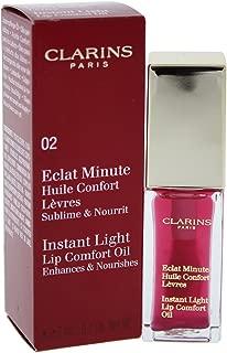 Clarins Instant Light Lip Comfort Oil - # 02 Raspberry, 7 ml