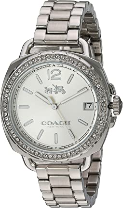 COACH Tatum 34mm Bracelet with 스와로브스키 Swarovski Crystal,Stainless Steel