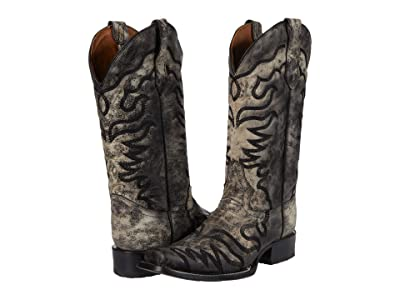 Corral Boots L5676 (Black/Bone) Women