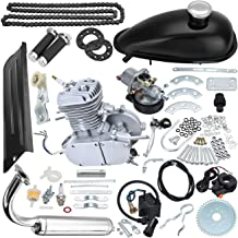 TDPRO Upgraded 80cc Motorized Bicycle Bike 2 Stroke Gas Motor Engine Kit | Complete Petrol Cycle Motor Set