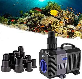 YAOBLUESEA Eco Teichpumpe Filterpumpe Bachlaufpumpe 5200L/H 40W Energiespar Wasserpumpe Koiteich Bachlaufpumpe SunSun CTP-...