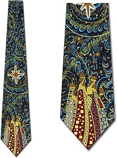 Three Wise Men Necktie - Men's Christmas Tie