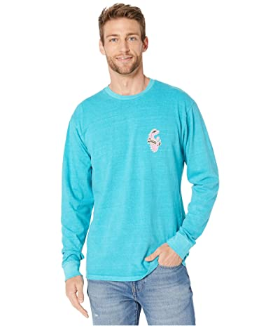 Vans Vintage Vanosaur Long Sleeve T-Shirt (Bluebird) Men