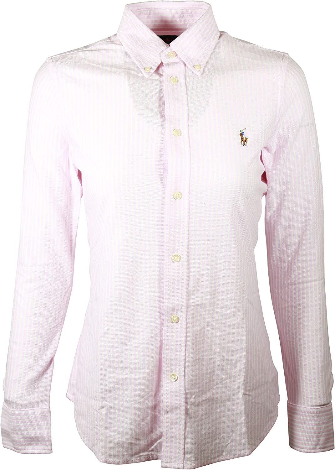 Ralph Lauren Women Classic Fit Striped Oxford Shirt