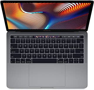 "Apple 13.3"" MacBook Pro with Touch Bar, Intel Core i5 Quad-Core, 8GB RAM, 256GB SSD, Intel Iris Plus Graphics 655 - Mid 20..."