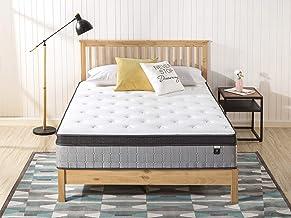 Zinus Support Plus iCoil Pocket Springs King Mattress Euro top Bed - 33 cm Medium Plush Feel - High Density Foam Layer - M...