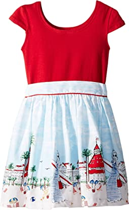 fiveloaves twofish - Just Shellin Abbie Dress (Toddler/Little Kids/Big Kids)