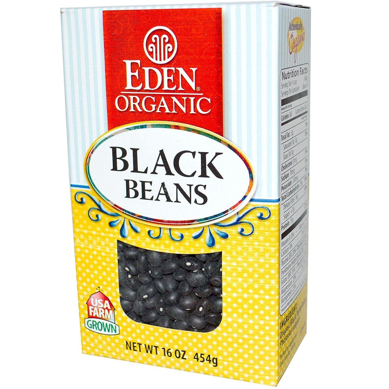 Eden Foods Organic Dry Black Beans, 16 OZ
