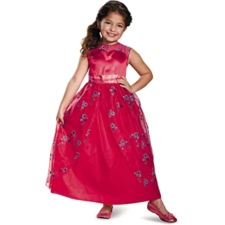 Disney Elena of Avalor Costume Shoes for Kids Size 7//8 TODLR Gold
