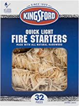 Kingsford Grilling BB12068 Fire Starters, 32 Count, Natural