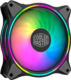 Cooler Master MasterFan MF120 Halo ARGB - Ventilateurs de Boîtier 120 mm, Éclairage RGB Adressable à Double Boucle, Pales ...