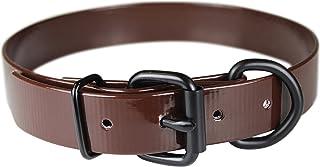 "OmniPet Sunglo Dee In front Pet Collar, 1"" x 21"", Brown"