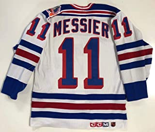 Mark Messier New York Rangers 94 Stanley Cup Authentic Ccm Jersey 44 Gerry Cosby