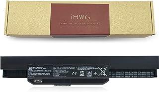 iHWG A32-K53 Batería para ASUS A32-K53 A42-K53 A53S K43 A45 K53 K53E X43 A83 A84 K54 K84 P43 P53 K53SV X44 X53E X54 X84 X84H Serie [10.8V / 5200mAh]