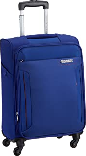 American Tourister Troy 55cm Softside Spinner Luggage with 3digit Lock