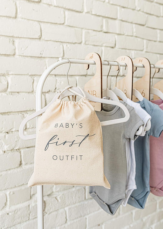 White Loft Baby Closet Size Outfit High order Keepsake Mem Max 54% OFF and Divider