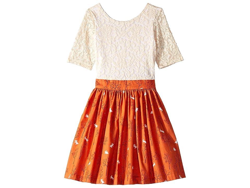 fiveloaves twofish Wanderlust Dress (Toddler/Little Kids) (Clementine) Girl
