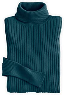 Fair Trade Organic Ribbed Turtleneck Sweater